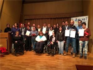 Concurso de pintura y escultura para jóvenes con discapacidad.