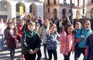 Alumnos de Educación Especial del IES Pirámide realizaron una convivencia con sus futuros compañeros.