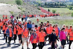 Aspace Huesca agradece a los oscenses su participación en la 7ª Marcha y hace balance.