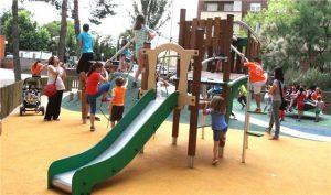 Licitan una zona de juegos infantiles inclusivos junto al Palacio de Congresos.