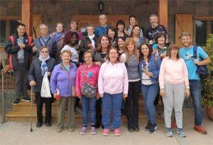 Alumnos del CPEPA Jacetania visitan el centro Ignacio Claver.