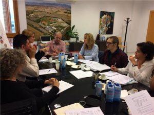 Comienza este miércoles en Sariñena el encuentro de profesionales de los servicios sociales de Francia y España.